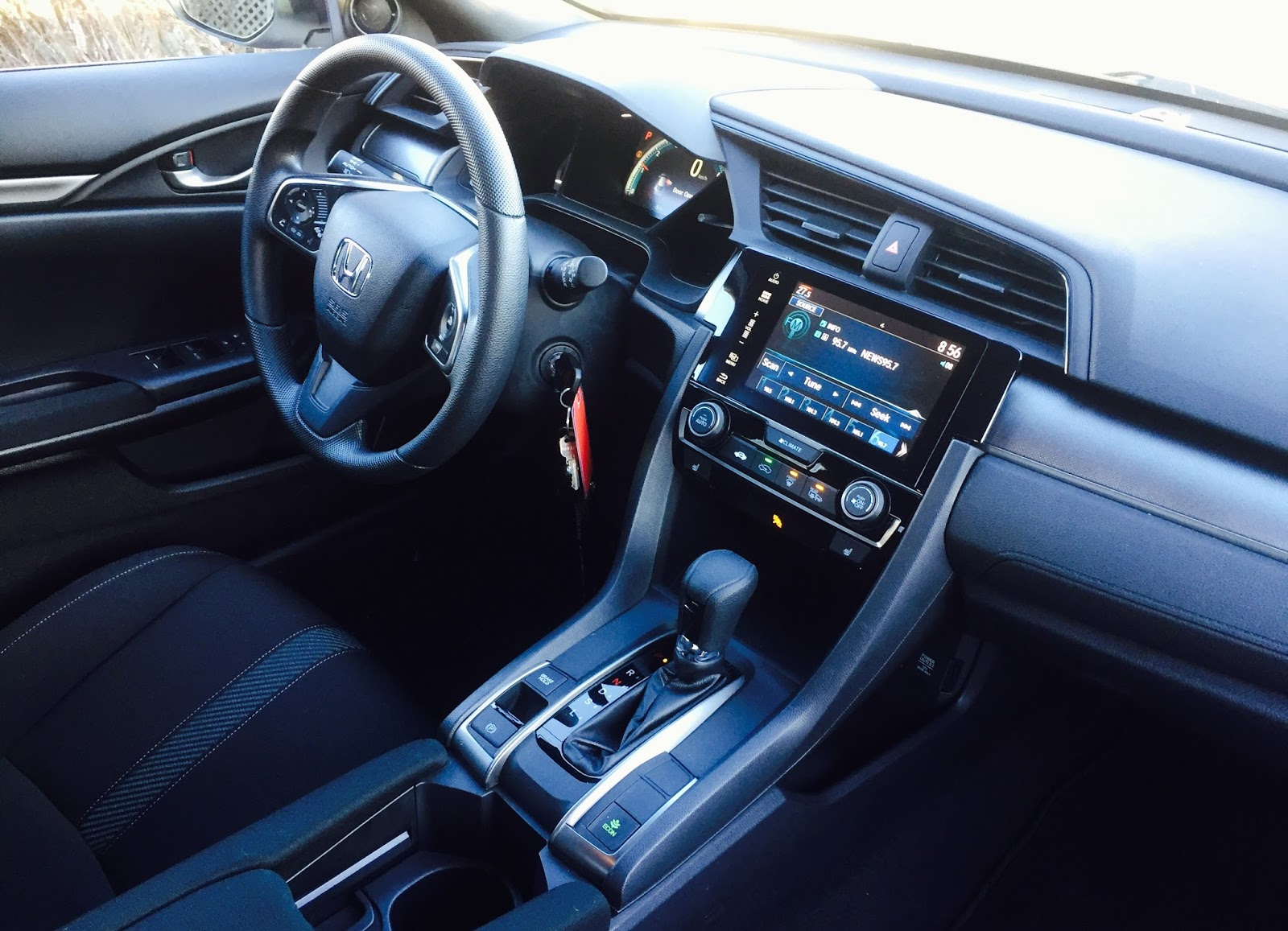 2017 Honda Civic Hatchback Lx Interior