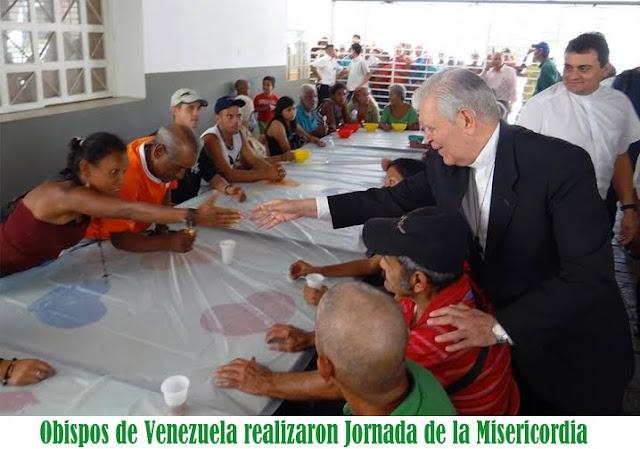 En Caracas, realizan jornada de la misericordia por los más aflijidos y necesitados #GestiónSocial #LaborAltruista