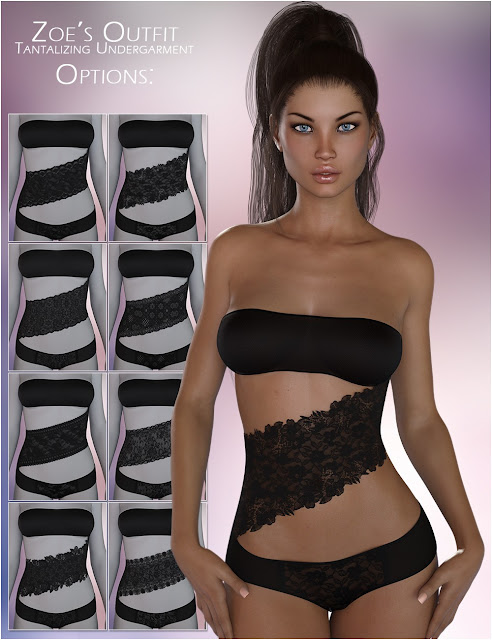FWSA Zoe HD for Victoria 7 and LF Tantalizing Undergarment