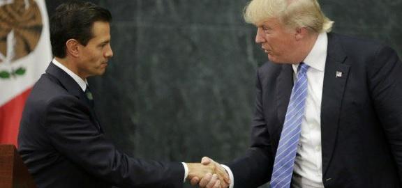 Peña Nieto, Donald Trump
