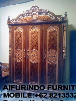CLASSIC FURNITURE,CLASSIC MAHOGANY REPRODUCTION,CLASSIC WARDROBE FURNITURE INDONESIA,INTERIOR CLASSIC FURNITURE,CODE  50