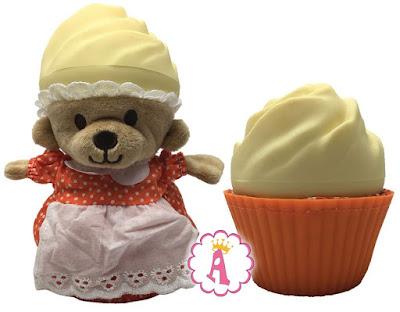 Ароматные капкейки, обзор игрушек Медвежонок в кексе