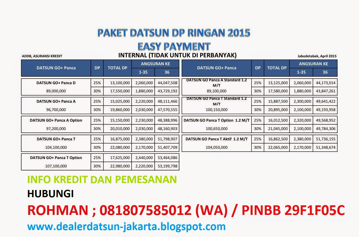eazy payment datsun finance
