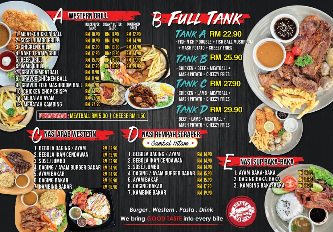 Burger Warisan D Gazebo Sijangkang Telok Panglima Garang Keunikan