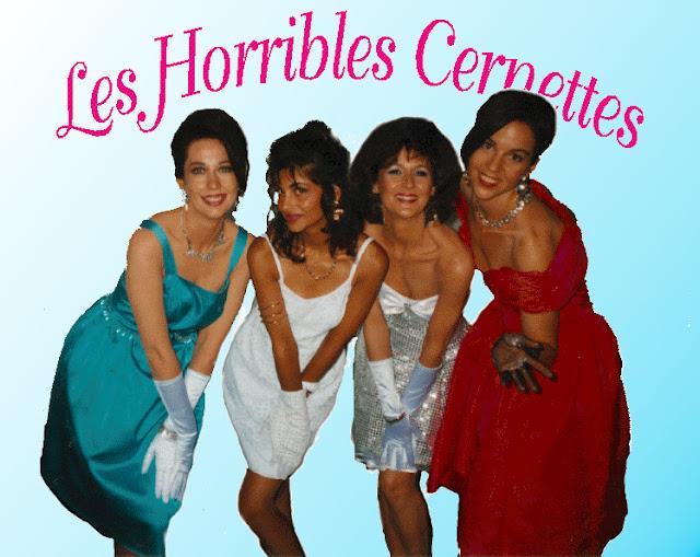 Fotografia del gruppo Les horribles Cernettes, la prima fotografia pubblicata sul web
