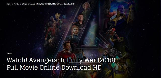 infinity war pelicula completa en español latino hd