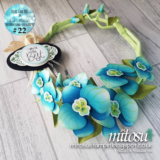 Stampin' Up! Climbing Orchid Bundle Mitosu Crafts Order Stampinup Products UK Online Shop 3