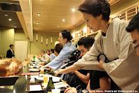 Pouring Beer at Tempura Endo Yasaka