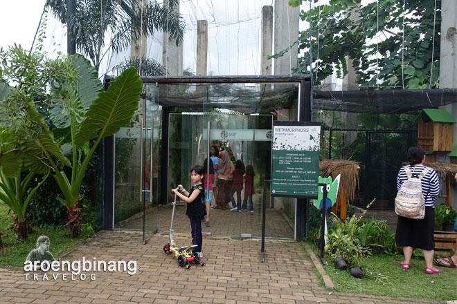 butterfly park scientia square park tangerang
