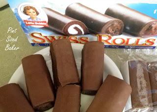 Little Debbie Swiss Rolls Cake Pops Pint Sized Baker