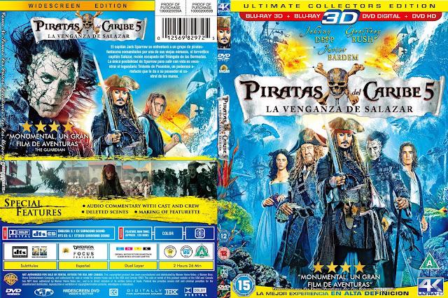 Piratas Del Caribe La Venganza De Salazar Dvd Archivos Coverdvdgratis