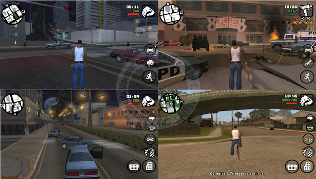 GTA SA lite v8 Apk Full Android