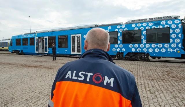 train germany THE CORADIA ILINT TRAINS Alstom