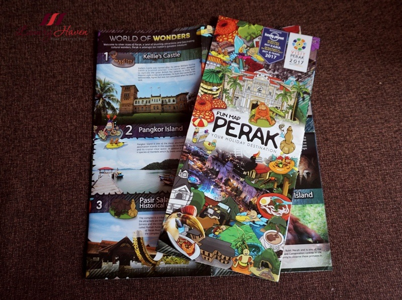 lonely planet guide perak fun map