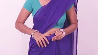 Most Popular Saree Draping Styles | Do it Yourself | Newlook