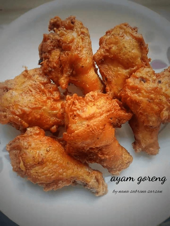 resepi mudah ayam goreng