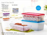 Stak N Stor Set Promo Tupperware September 2016