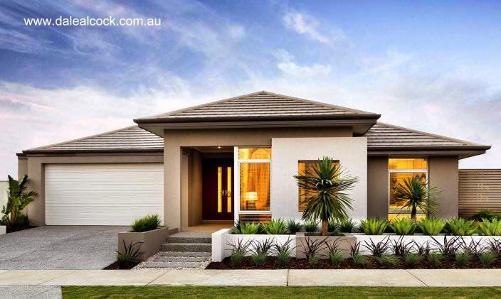 Casa residencial contemporánea imagen de renderizado de proyecto en Australia