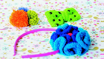 Knit Hair Accessories this Summer