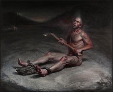 "American Figurative Painter -""Luke Hillestad"""