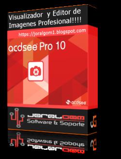 ACDSee  v10.0 Build Pro Visualizador y Editor de Imágenes Profesional !!!