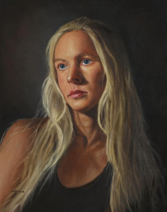 Польский художник. Magdalena Scholle
