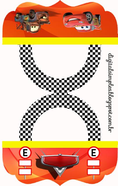 Esta es una etiqueta para bolsas de golosinas