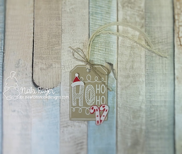 Newton's Nook Designs Joyful Tags Set - Naki Rager