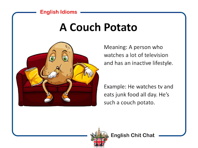 English Chit Chat: Common English Idioms Video and Pictures