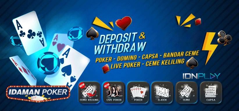 Keuntunggan Dari Bermain Poker Secara Online ~ IdamanPoker ...
