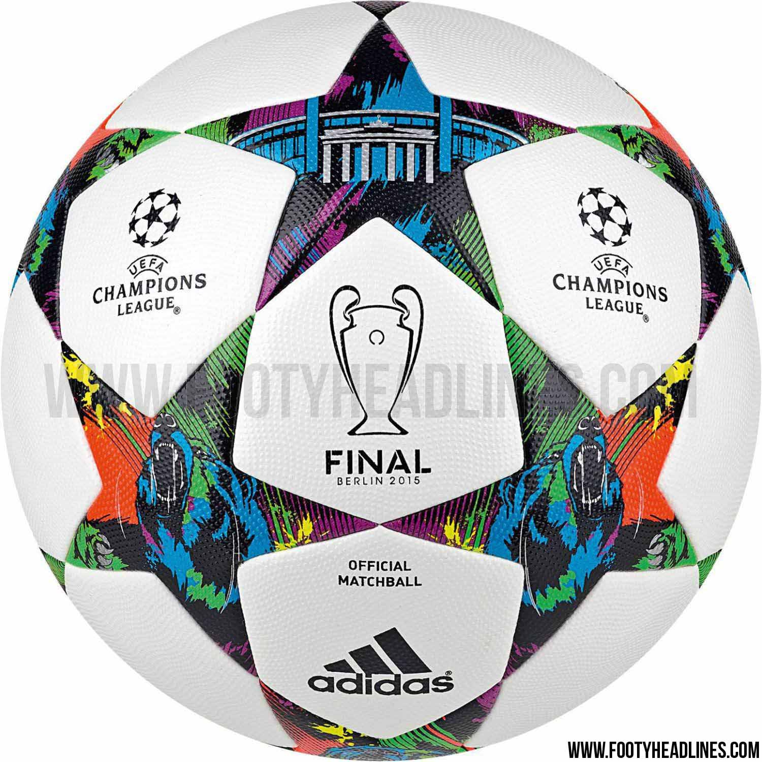 Cuadro Champions League 2014 Adidas Finale Berlin 2015 Champions League Ball Released