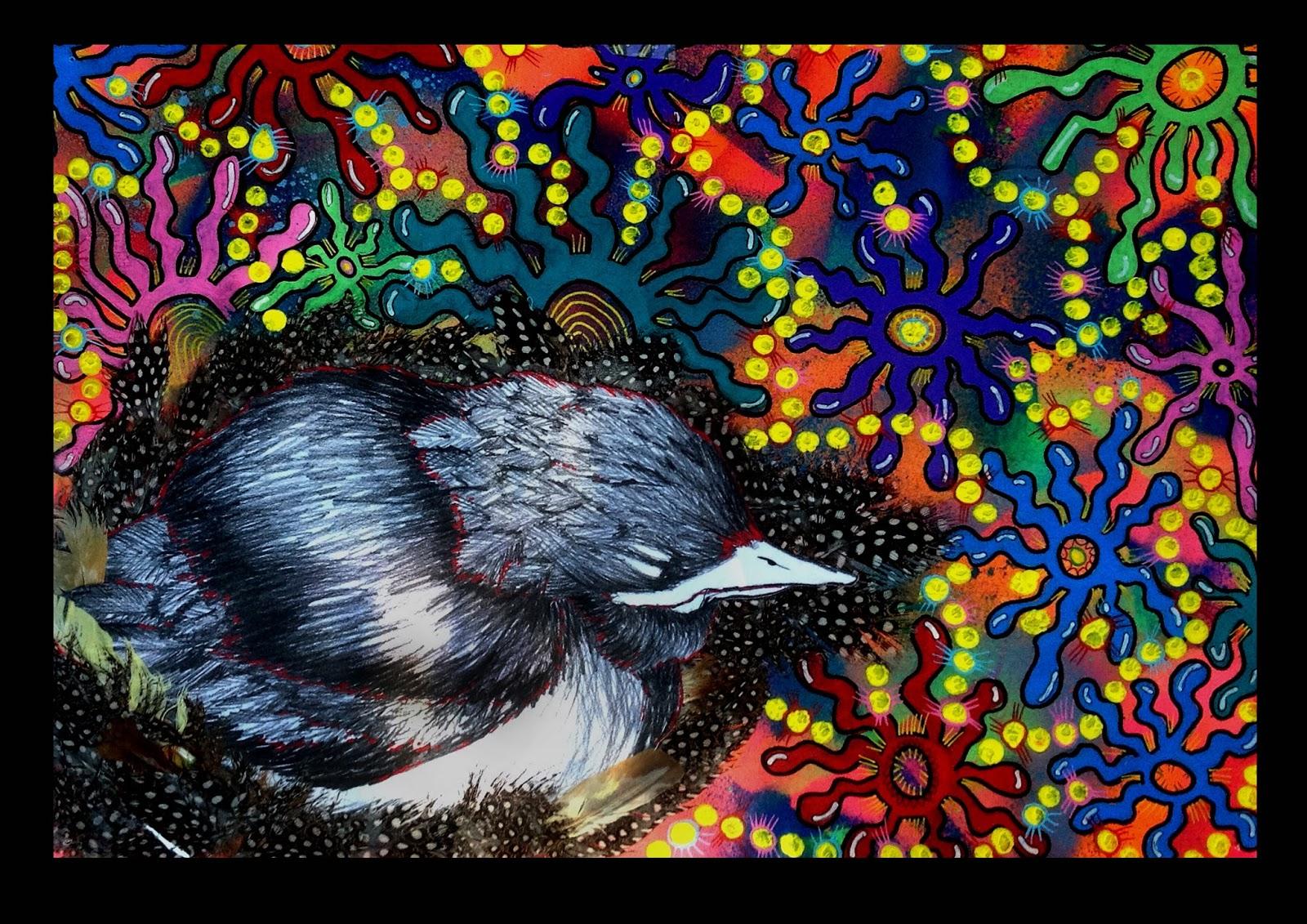 Australian Animals In Aboriginal Artworks