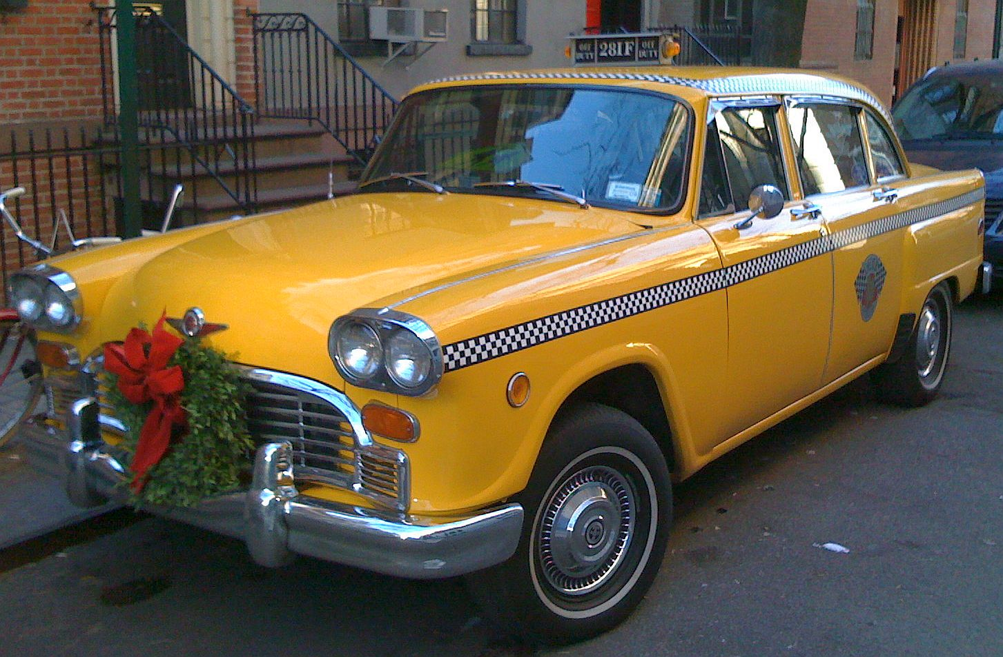 Checker Cab London >> Just A Car Guy Last Of The Checker Taxi Cabs 1n11 Also