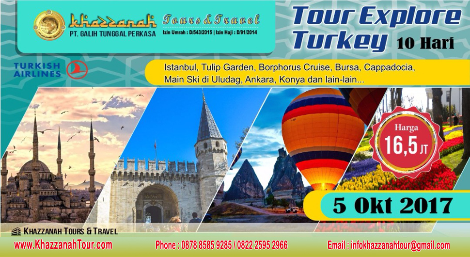 Khazzanah Tour explore Turki