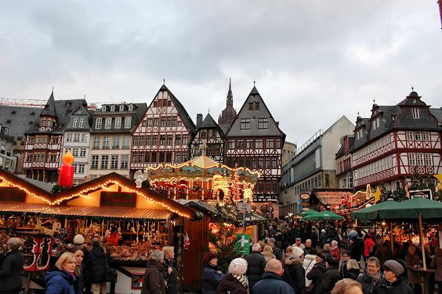 Weihnachtsmarkt Romerberg Frankfurt