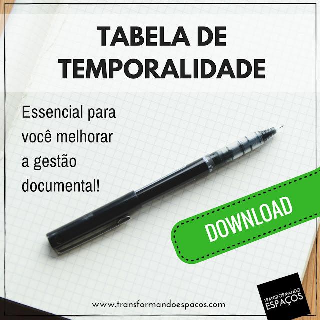 Modelo de Tabela de Temporalidade de Arquivo Pessoal