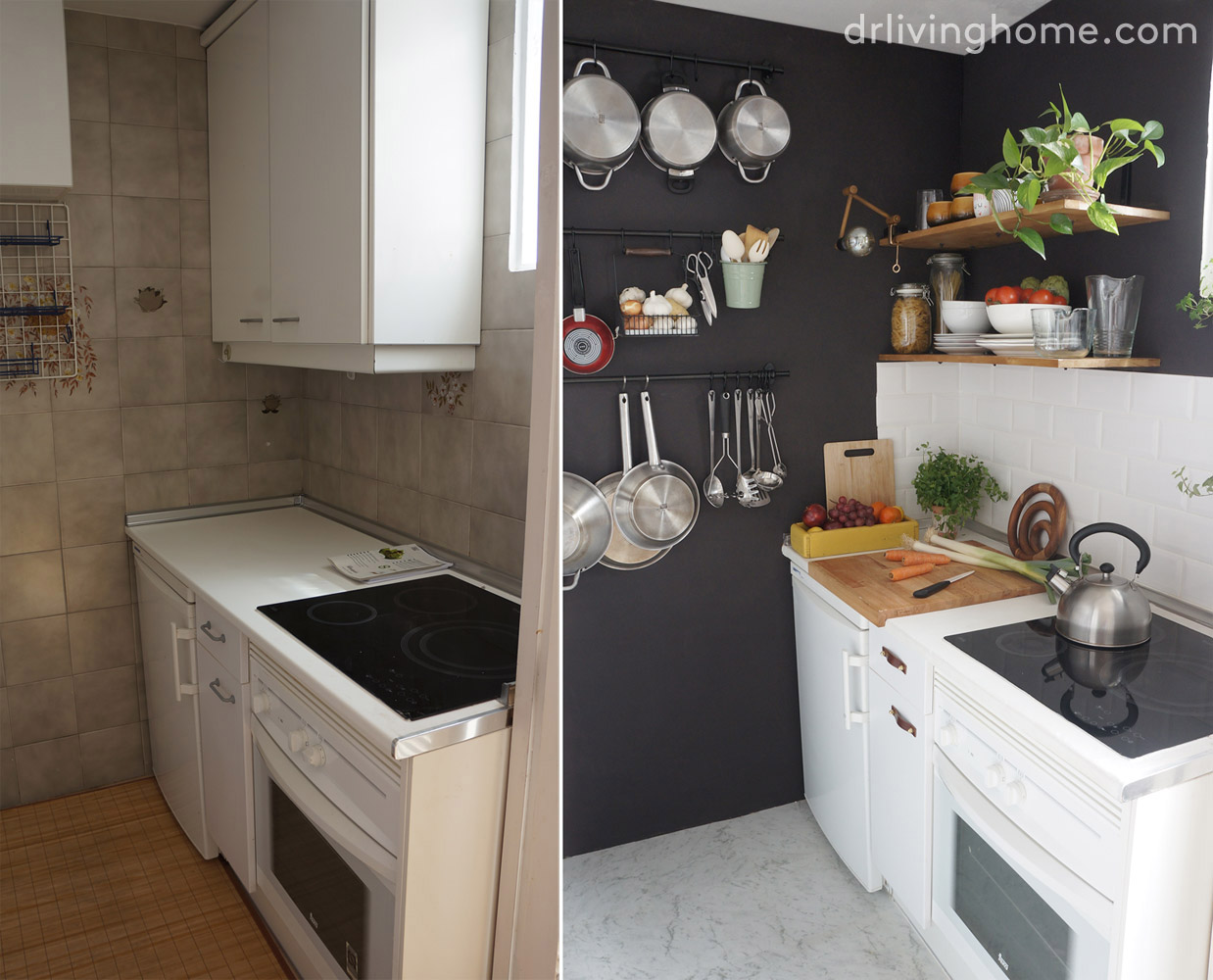 C mo ordenar una cocina peque a para aprovechar el espacio blog decoraci n con tu estilo - Aprovechar cocinas pequenas ...