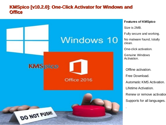 kms windows 10 activator offline