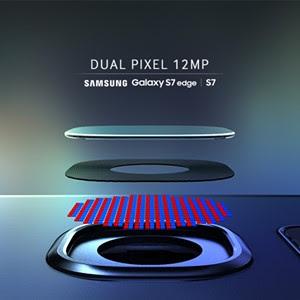 Dual Pixel 12MP Samsung Galaxy S7