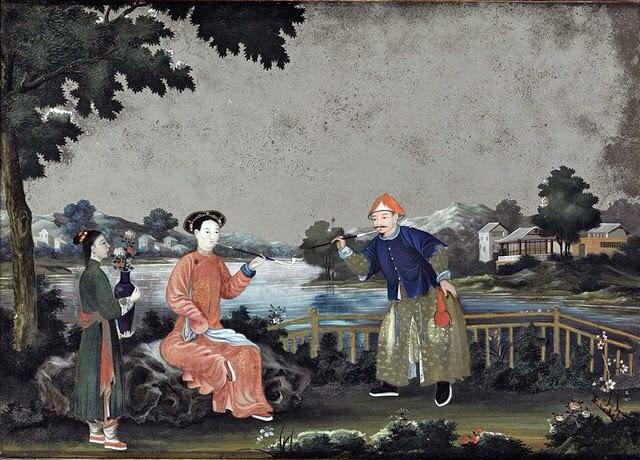 курение в Китае история