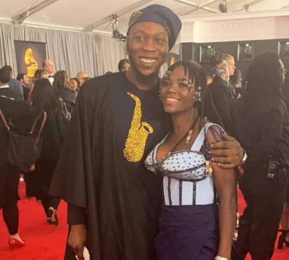 #Grammy2019: Photos of Seun Kuti and his partner Yeide at the Grammy's last night
