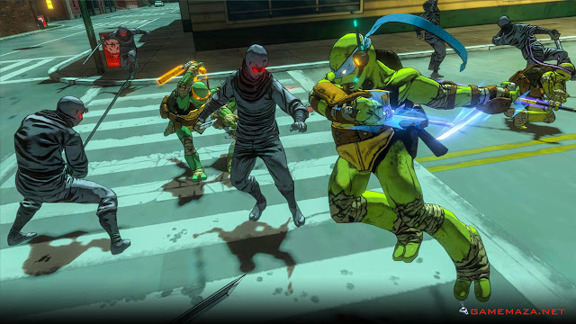 Teenage Mutant Ninja Turtles Mutants In Manhattan Gameplay Screenshot 3