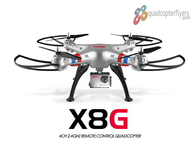 Syma X8G Quadcopter With GoPro Camera