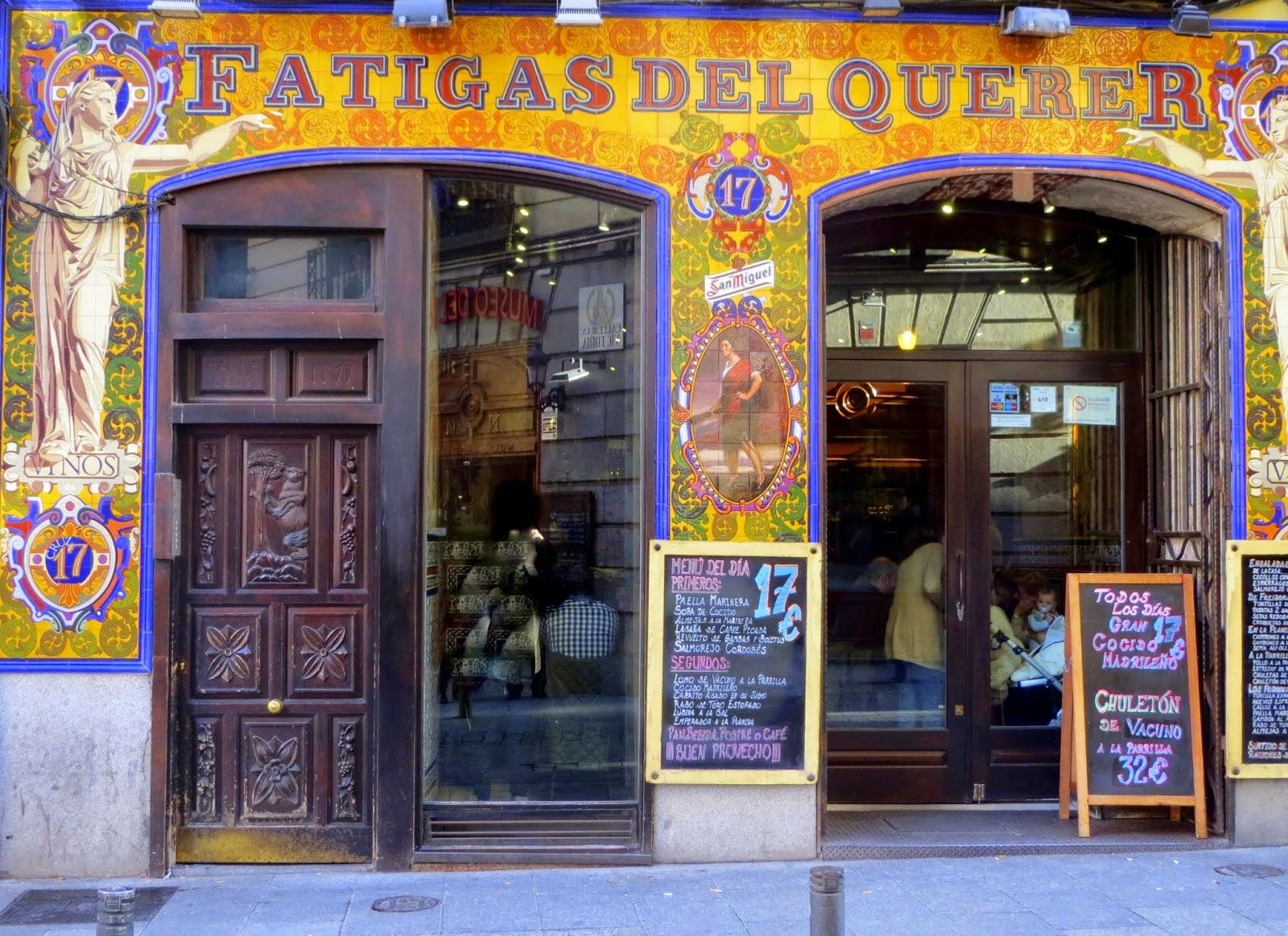 Azulejos Adolfo Montes Alvaredo. Calle de la Cruz. Madrid