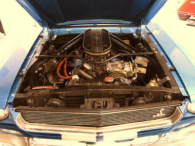 1966 Ford Mustang GT 350 Sport Convertible Engine
