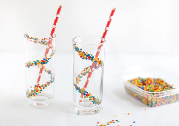 Skinny Confetti Cake Batter Milkshakes