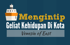 denyut kehidupan sungai musi palembang the venesia of east