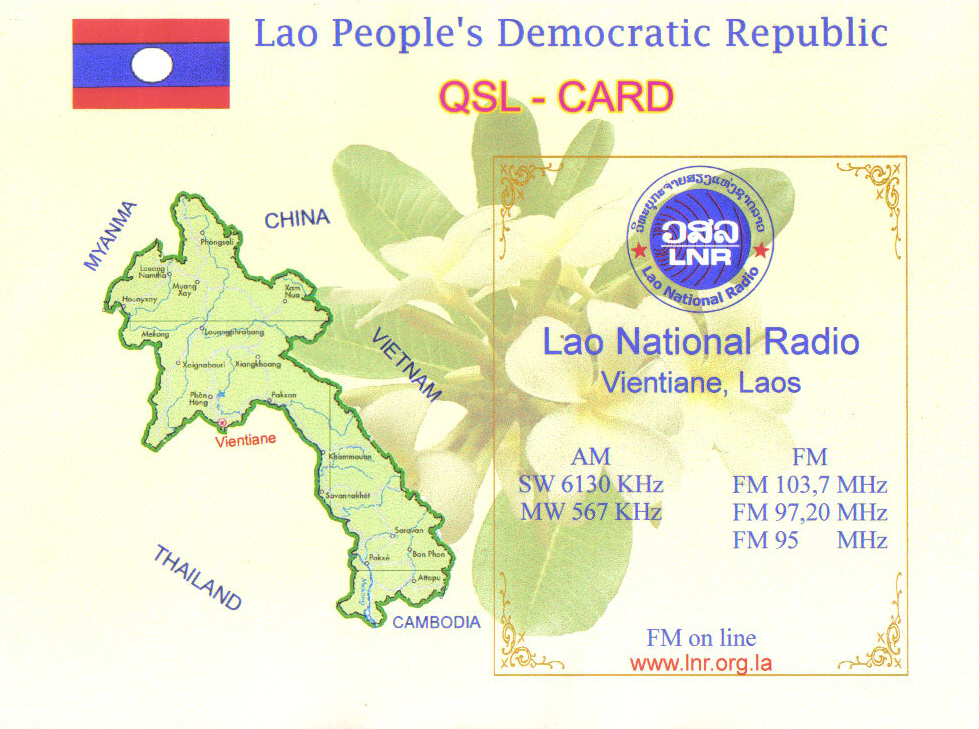 SOUTH EAST ASIA DXING: Lao National Radio
