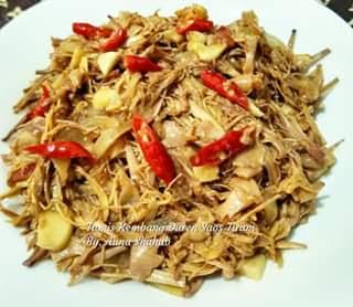 Resep Masakan Tumis Kembang Duren Saos Tiram