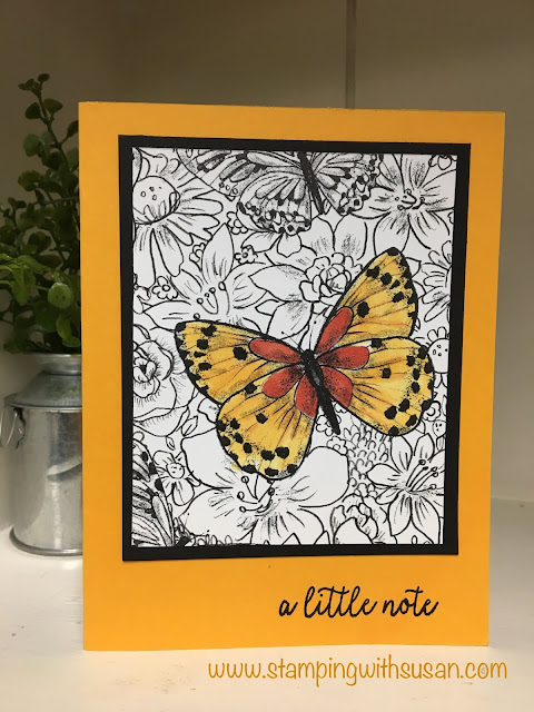 Stampin' Up!, Botanical Butterfly, Stampin' Blends, www.stampingwithsusan.com